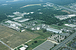 aerial view of Rock Hill plant